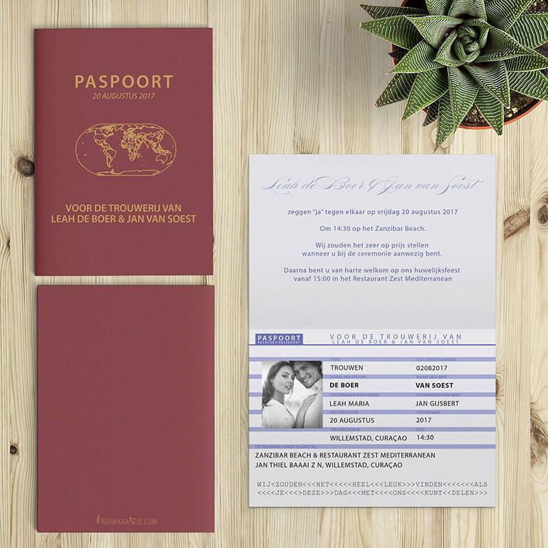 Destination trouwkaarten zijn speciaal bedacht en ontworpen voor een destination wedding, of een internationale relatie, of voor globetrotters.