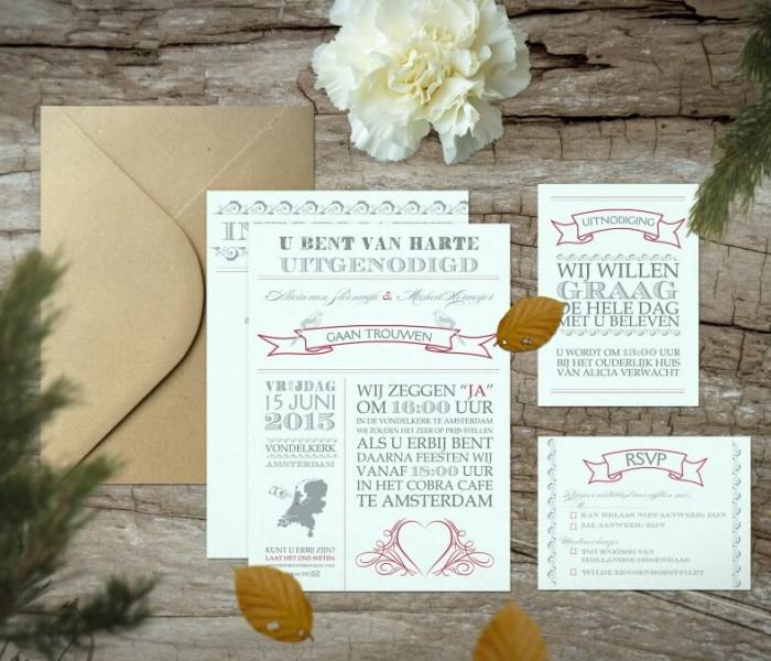 vintage-uitnodiging-trouwstijl-trouwkaart